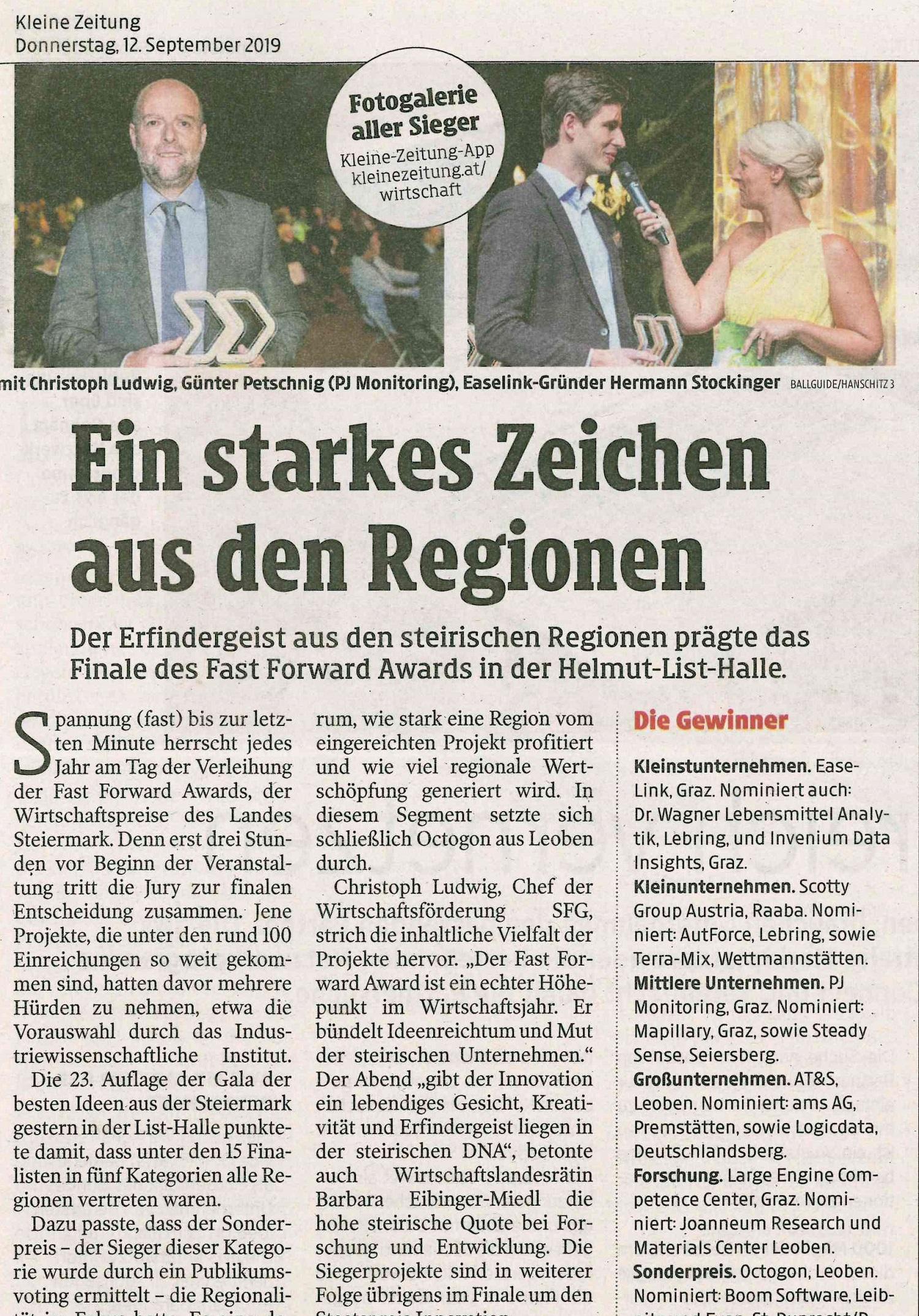 Kleine_Zeitung_FFA120919Ausschnitt